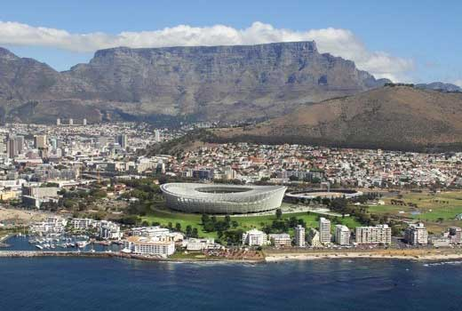 South Africa - Champion Venue of World Cup 2010