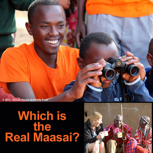 which real maasai