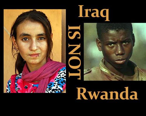 IraqIsNotRwanda