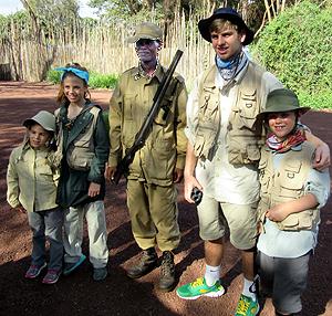 Annika, Isabella, Ranger, Lucas & Magnus