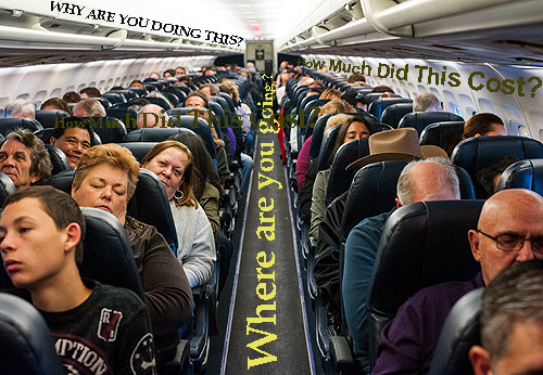 horrible plane ride