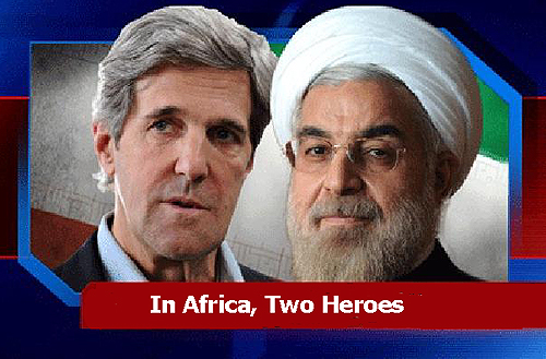 Two Heroes to Africa