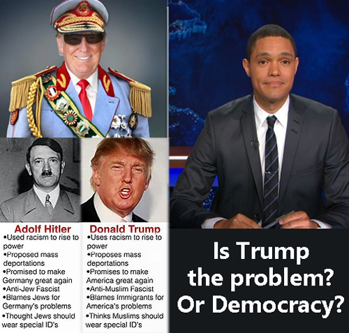 TrumpOrDemocracy