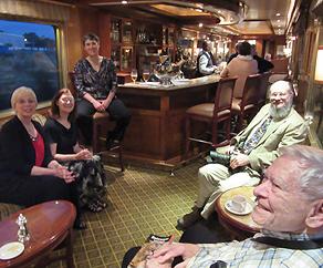 Michelle, Carole and Deborach Sullivan; Jan Lavacek and Marc Whitehead
