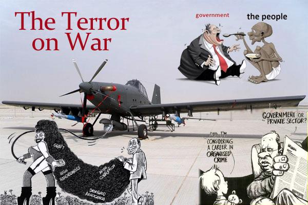 terror on war