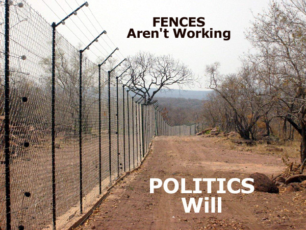 antipoaching fence