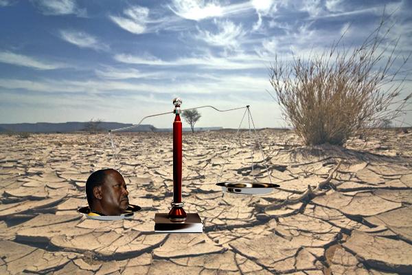 raila in the desert