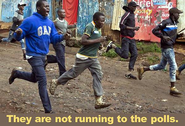 kenyan protestors