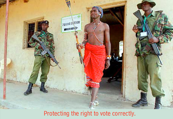 protecting democracy
