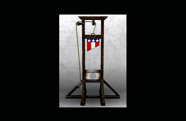 beware the guillotine